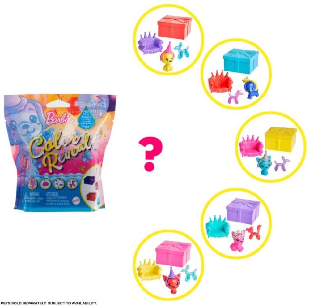 Barbie - Mattel - Barbie Color Reveal Pet, One Surprise Color Reveal with Each Transaction