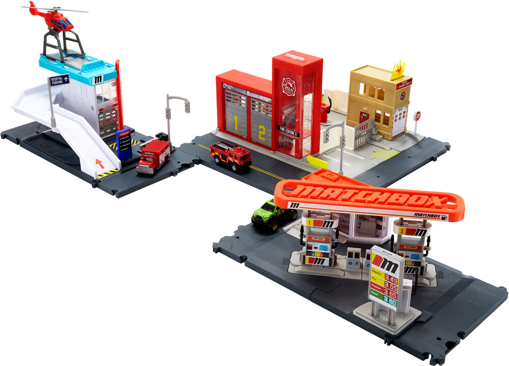 - Mattel - Matchbox Entry Playset