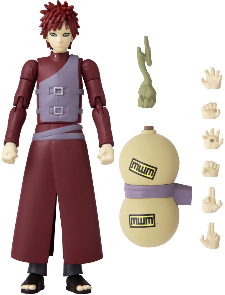 - Bandai America - Anime Heroes Naruto Gaara 6.5 Action Figure