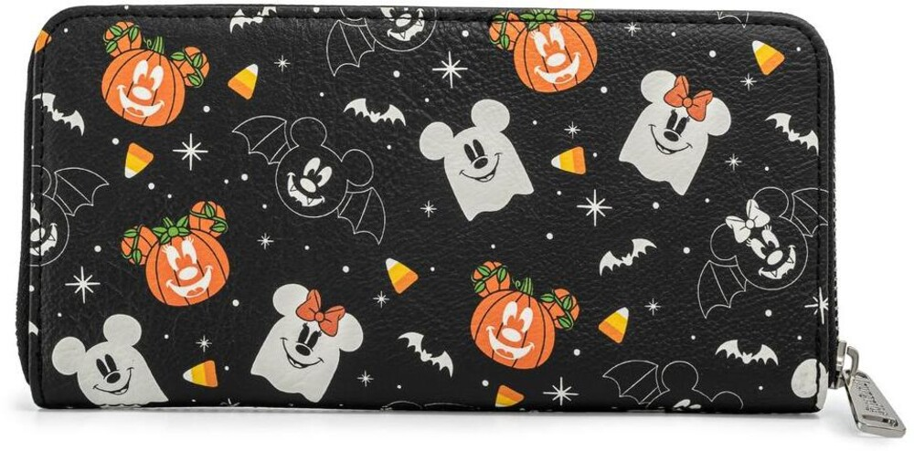 Loungefly Disney: - Spooky Mice Candy Corn Zip Around Wallet (Wal)