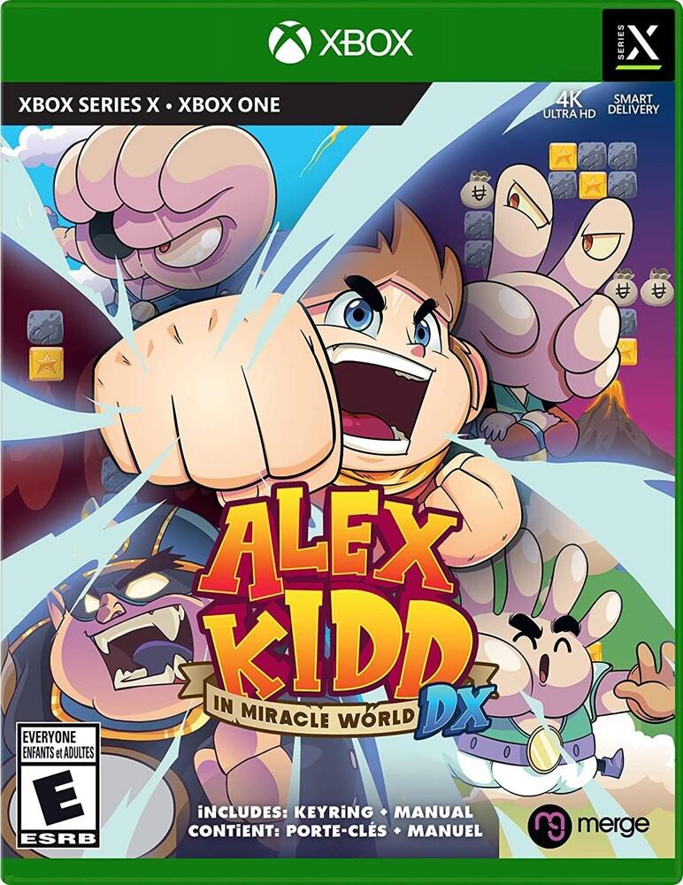 - Xb1/Xbx Alex Kidd In Miracle World Dx