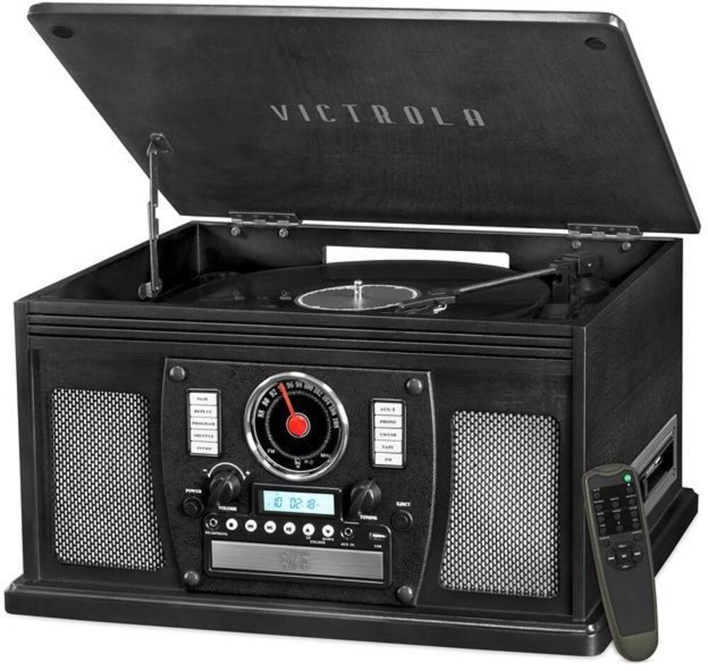 Victrola Vta600Bblk Navigator Bt 8/1 Music Ctr Blk - Victrola Vta600bblk Navigator Bt 8/1 Music Ctr Blk