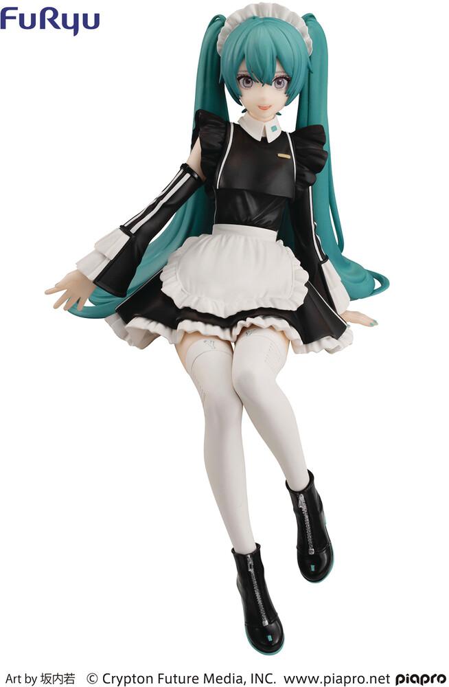 - Hatsune Miku Sporty Maid Ver Noodle Stop Pvc Fig