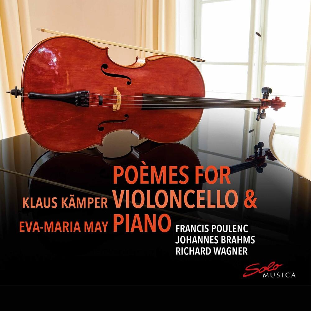 Berg / May / Kamper - Poemes For Violoncello & Piano