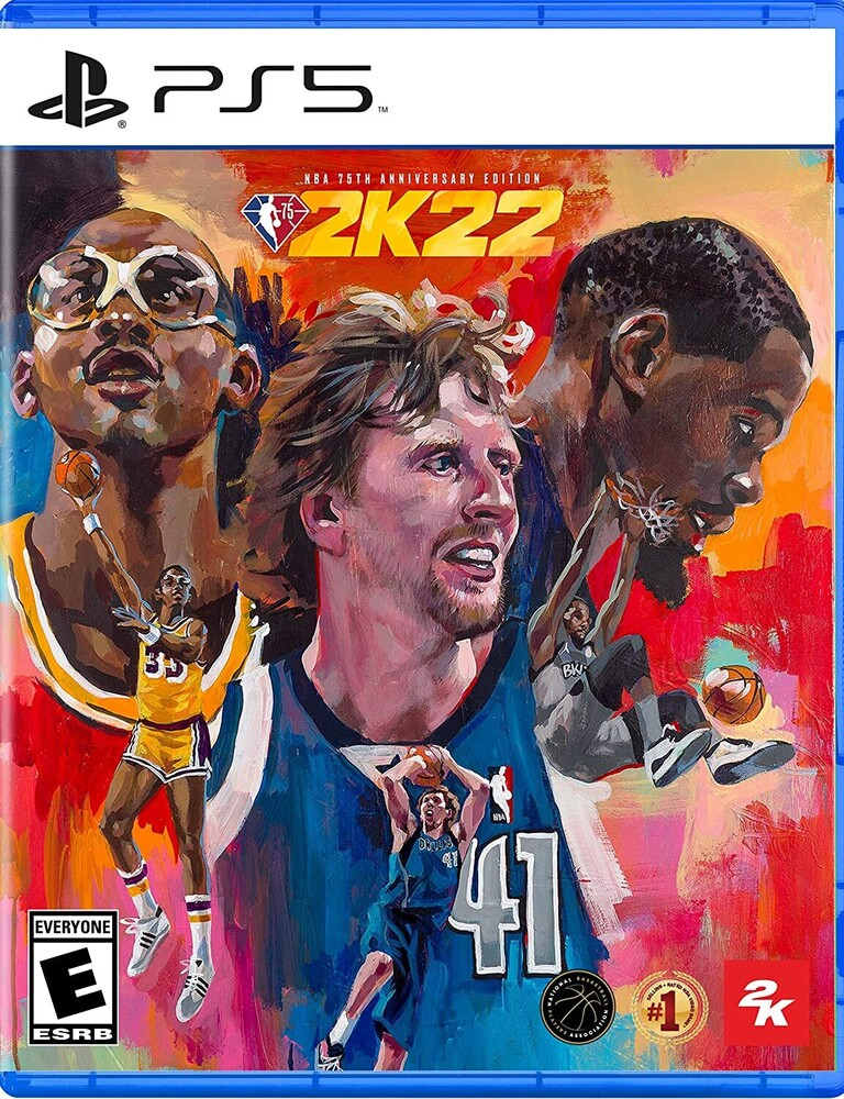 Ps5 NBA 2K22 75th Anniversary - Ps5 Nba 2k22 75th Anniversary