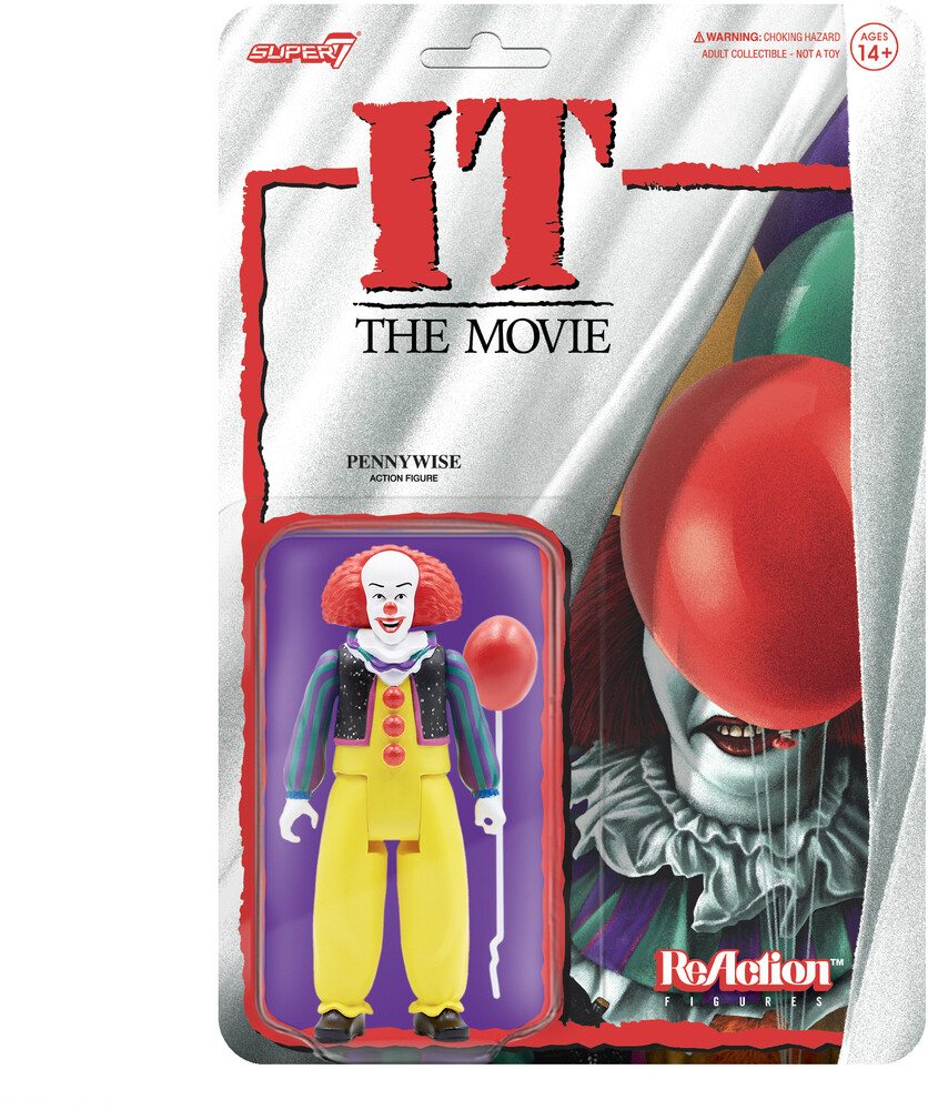 It Reaction - Pennywise (Clown) - It Reaction - Pennywise (Clown) (Afig) (Clcb)