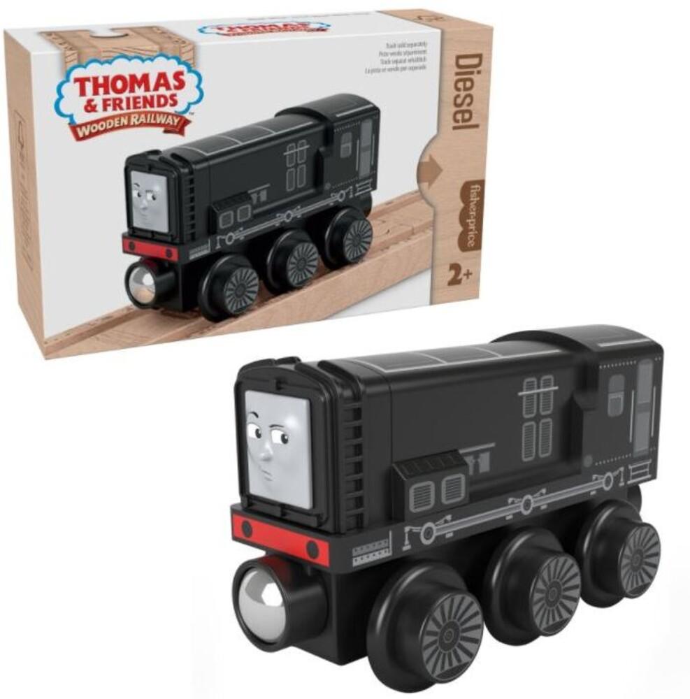 Thomas and Friends Wooden Railway - Thomas And Friends Wood Diesel Engine (Wood) (Trn)