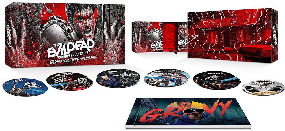 Evil Dead Groovy Collection - The Evil Dead Groovy Collection