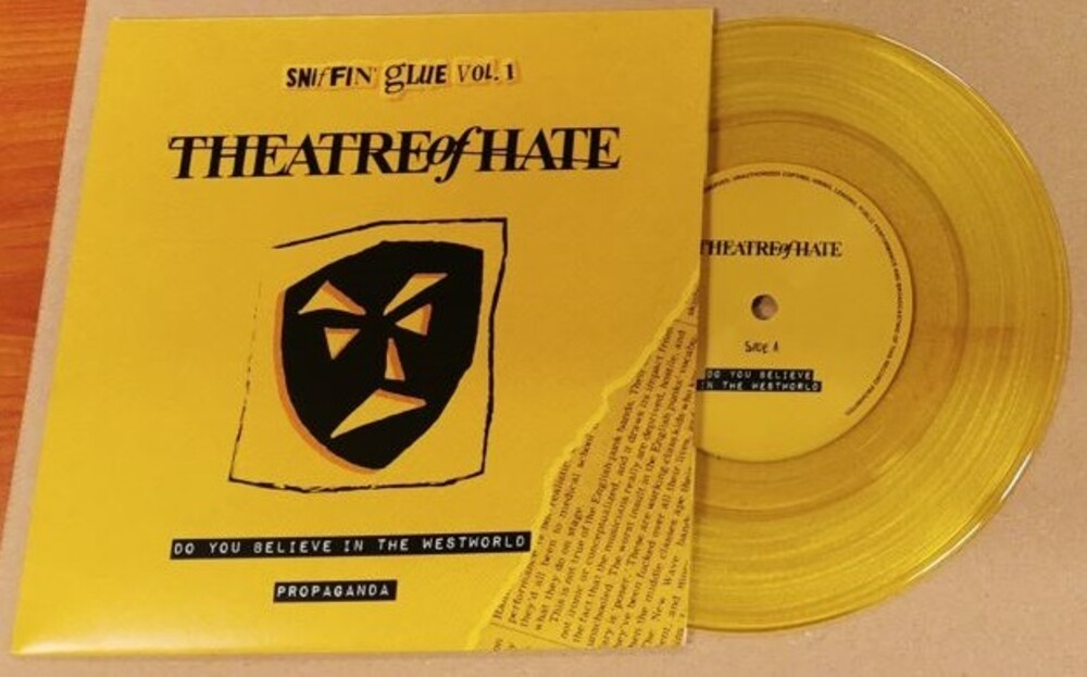 Theatre Of Hate - Do You Believe In The West World / Propaganda
