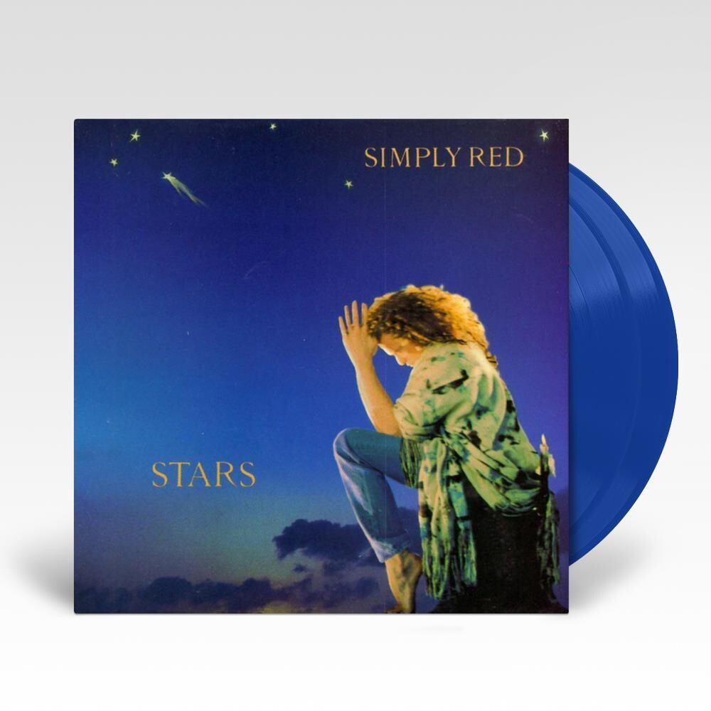 Simply Red - Stars (Blue) [Colored Vinyl] [Limited Edition]