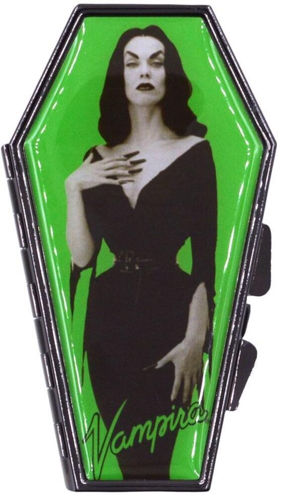 Vampira Portrait Green Coffin Compact - Vampira Portrait Green Coffin Compact (Clcb)