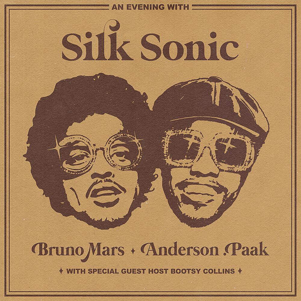 Silk Sonic ( Bruno Mars  & Paak,Anderson ) - An Evening With Silk Sonic