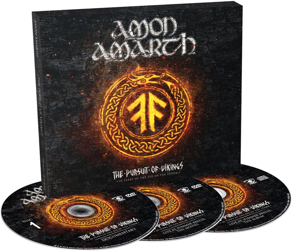 Amon Amarth - The Pursuit of Vikings: 25 Years in the Eye of the Storm [DVD]