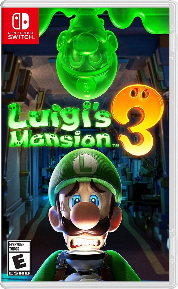 Swi Luigi's Mansion 3 - Luigi's Mansion 3 Standard Edition for Nintendo Switch