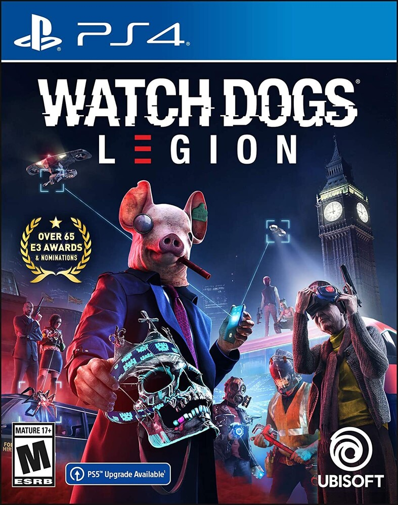 Ps4 Watch Dogs: Legion Limited Edition - Watch Dogs: Legion Limited Edition