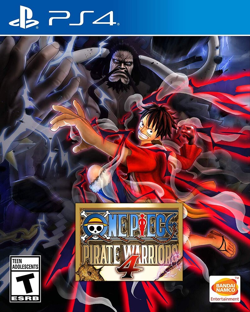 - One Piece: Pirate Warriors 4 for PlayStation 4