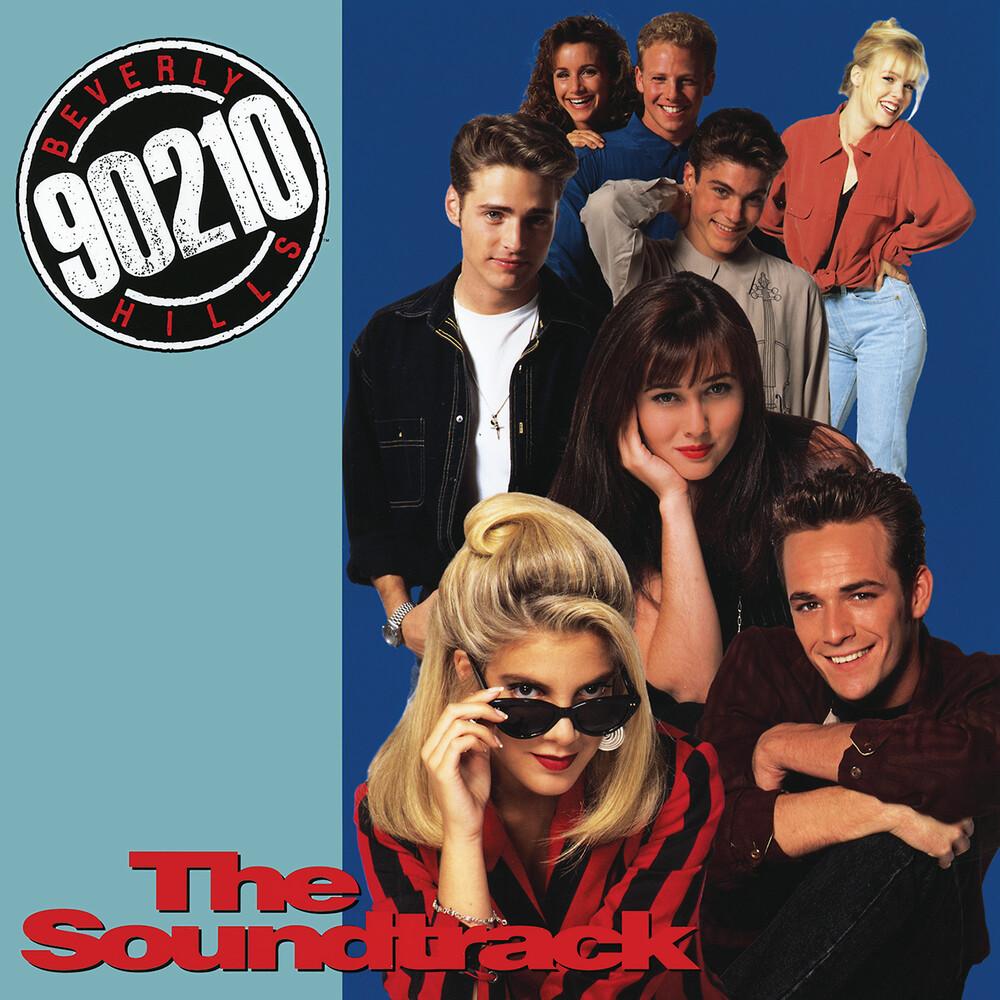Various Artists - Beverly Hills 90210: The Soundtrack [Transparent Light Blue LP]