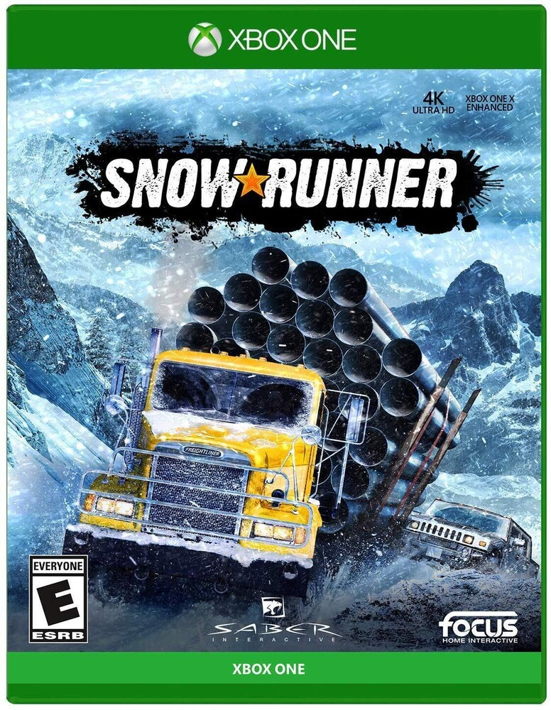 - SnowRunner for Xbox One