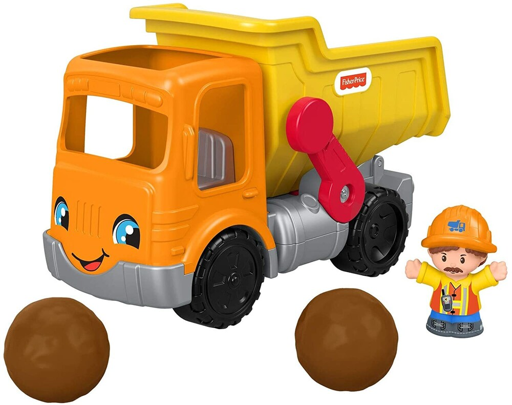 Little People - Fisher Price - Little People Large Vehicle, Dump Truck