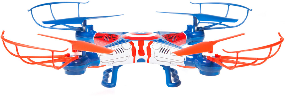 Rc Drone - Marvel Captain America Sky Hero 2.4GHz 4.5ch RC Drone (Marvel, Avengers Captain, America)