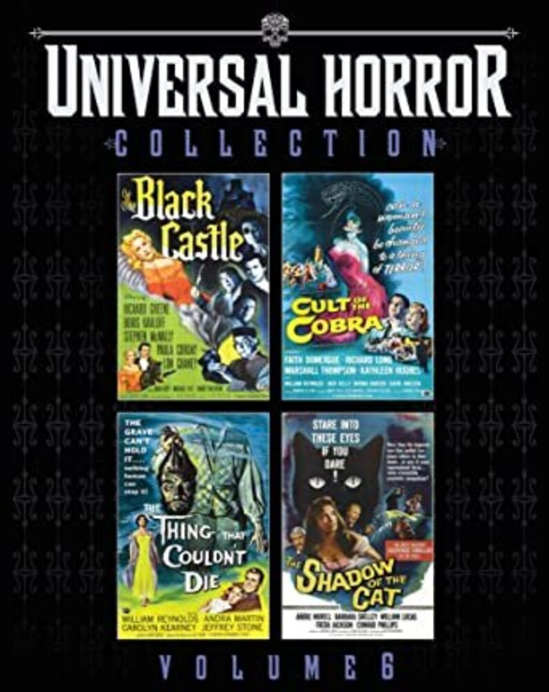 - Universal Horror Collection 6 (4pc) / (Box Dts Ws)