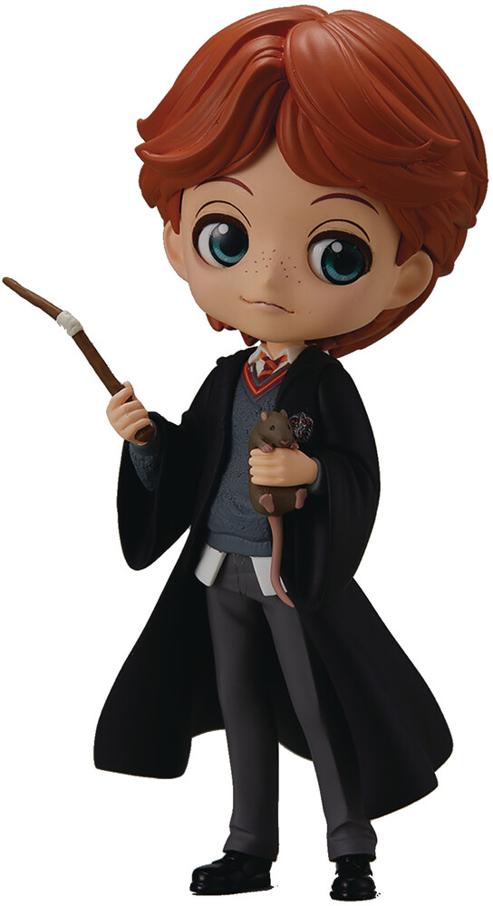 Banpresto - BanPresto - Harry Potter Ron Weasley with Scabbers Q posket Figure