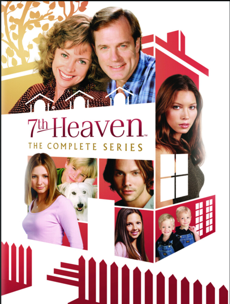 Allison Mack - 7th Heaven: Complete Series (61pc) / (Box Full)