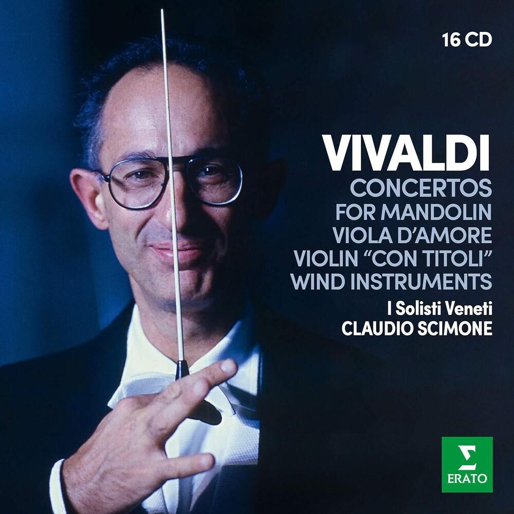 Claudio Scimone - Vivaldi: Concertos for Wind instruments, Mandolin, Viola d'amore &