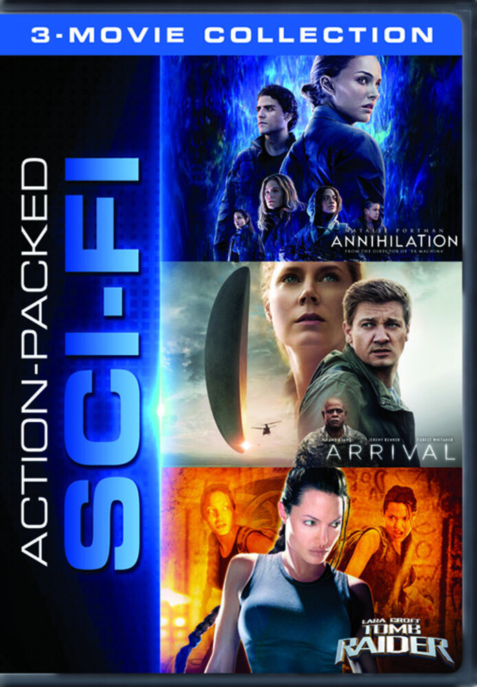 Action Packed Sci-Fi 3-Movie Collection - Action Packed Sci-Fi 3-Movie Collection (3pc)