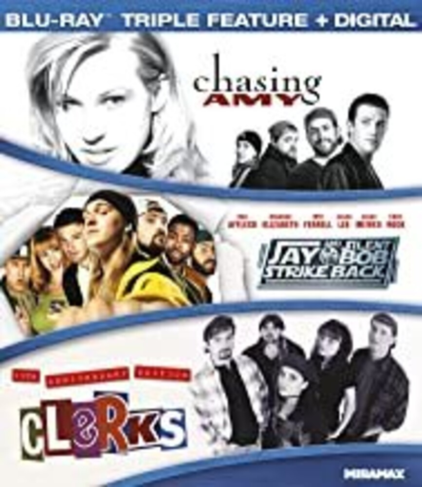 Kevin Smith Collection - Chasing Amy / Jay and Silent Bob Strike Back / Clerks