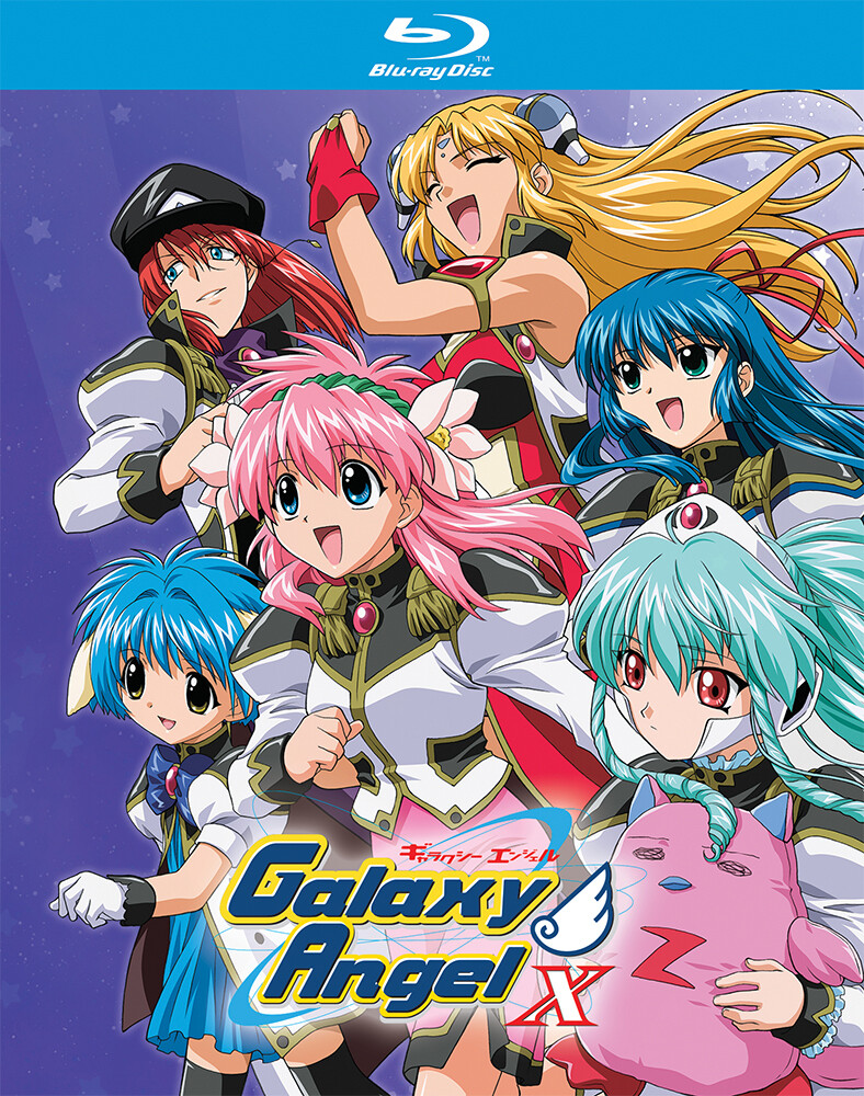 - Galaxy Angel X Blu-Ray Collection