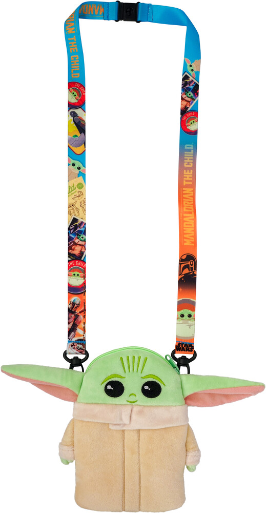 Star Wars: Mandalorian Child Deluxe Plush Lanyard - Star Wars: Mandalorian - The Child Deluxe Plush Lanyard