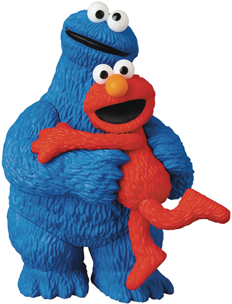 Medicom - Medicom - Sesame Street UDF Series 2 Elmo & Cookie Monster Figure