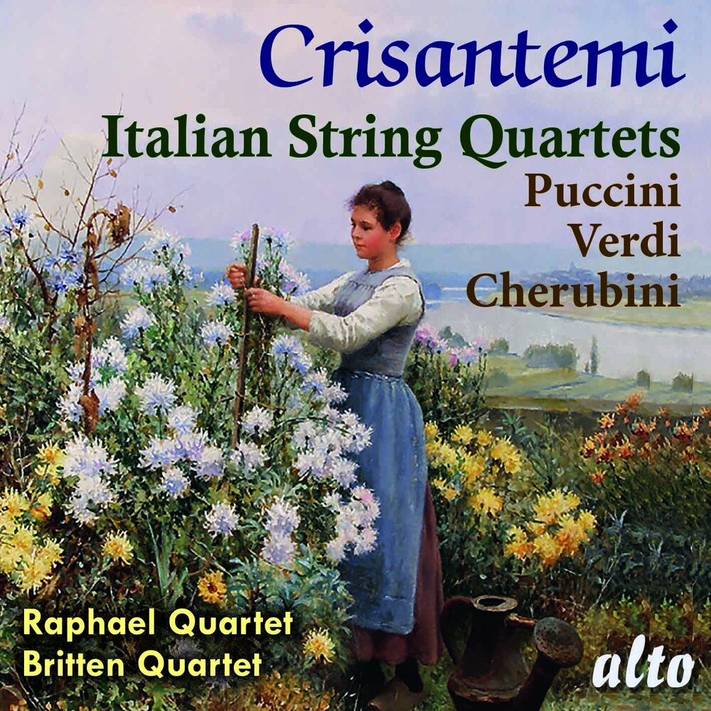 Raphael Quartet / Britten Quartet - Crisantemi: Italian String Quaretes: Puccini: