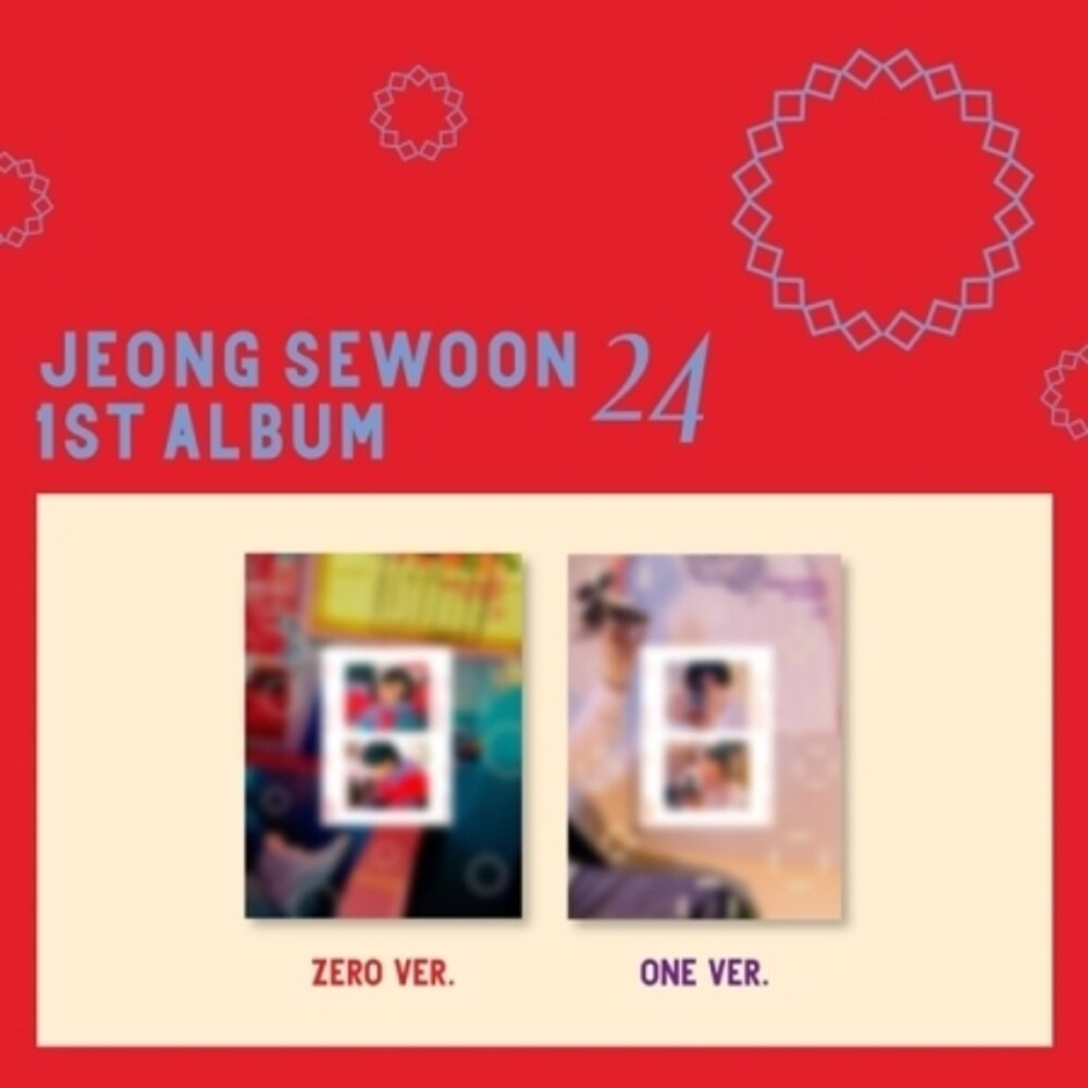 Jeong Sewoon - 24 (Part 2) (incl. 128pg Photobook, Film Photo + Photocard)