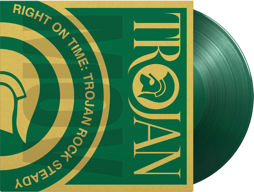 Right On Time: Trojan Rock Steady / Various - Right On Time: Trojan Rock Steady / Various [Limited 180-Gram Translucent Green Colored Vinyl]