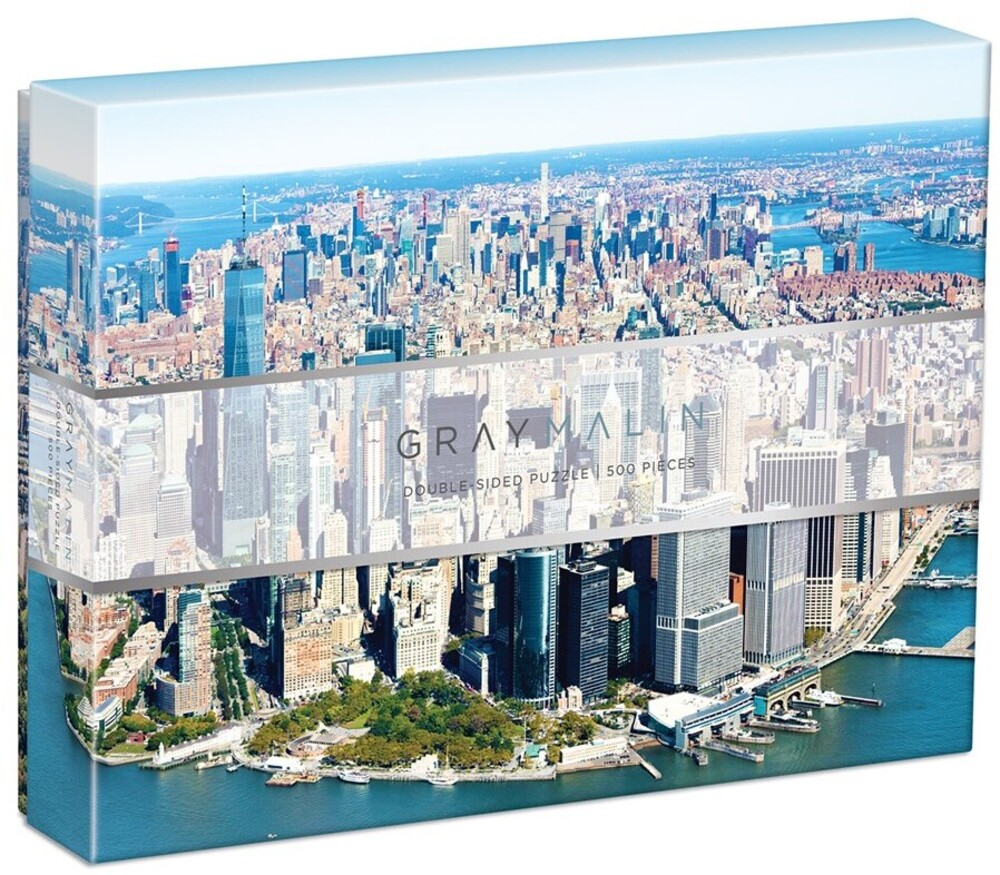 - Gray Malin New York City 500 Piece Double Sided Puzzle