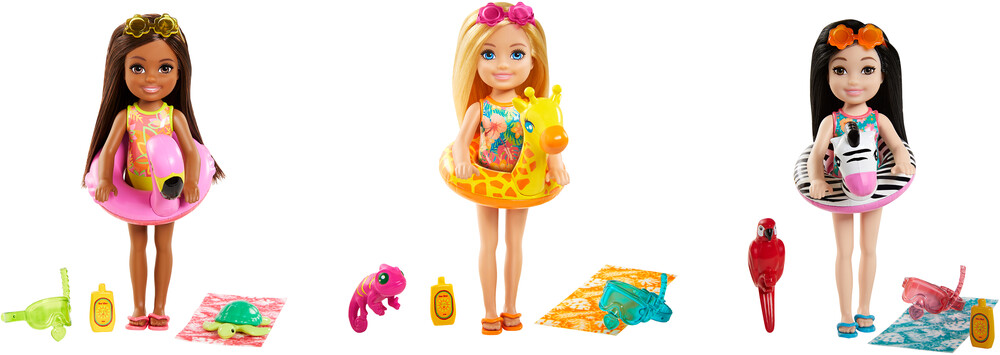 - Mattel - Barbie Chelsea and Pet Assortment