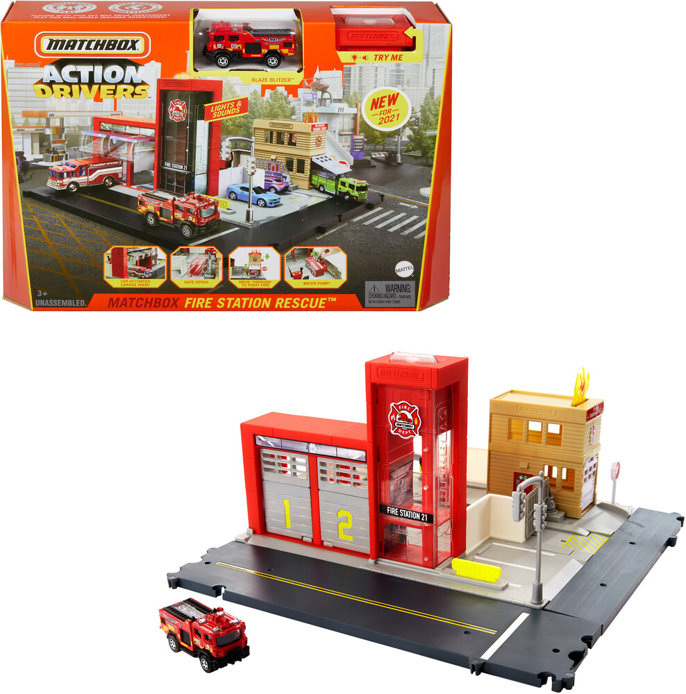 - Mattel - Matchbox Mid Playset Assortment