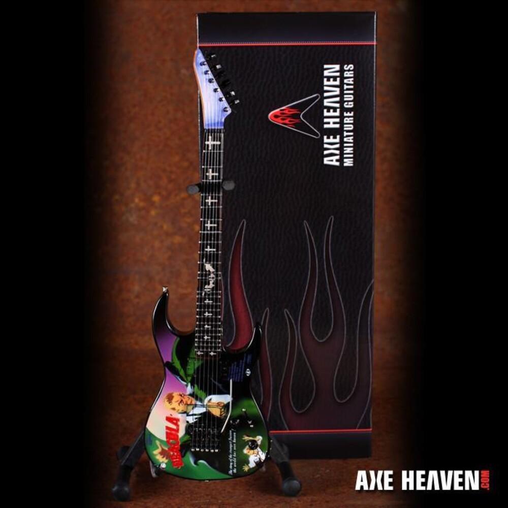 - Kirk Hammett Signature Dracula Mini Guitar (Clcb)