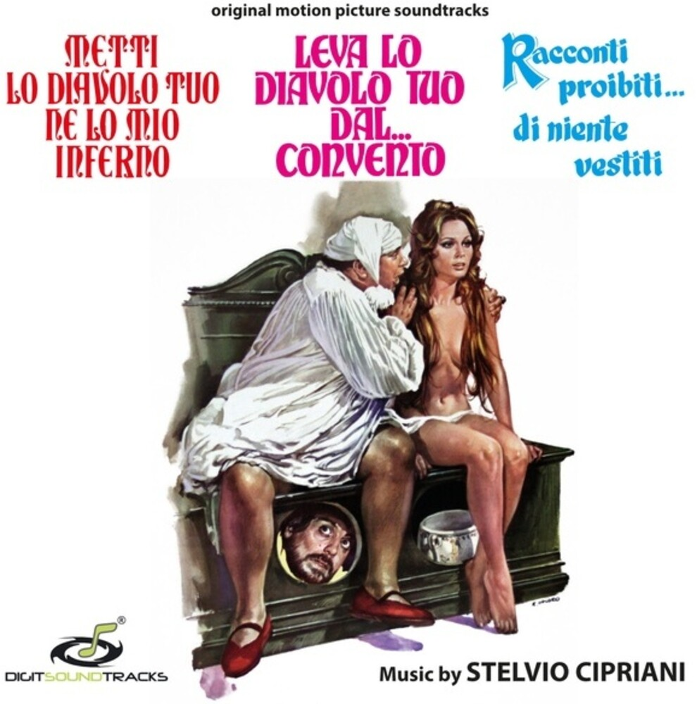 Stelvio Cipriani  (Ita) - Metti Lo Diavolo Tuo Ne Lo Mio Inferno / Leva Lo