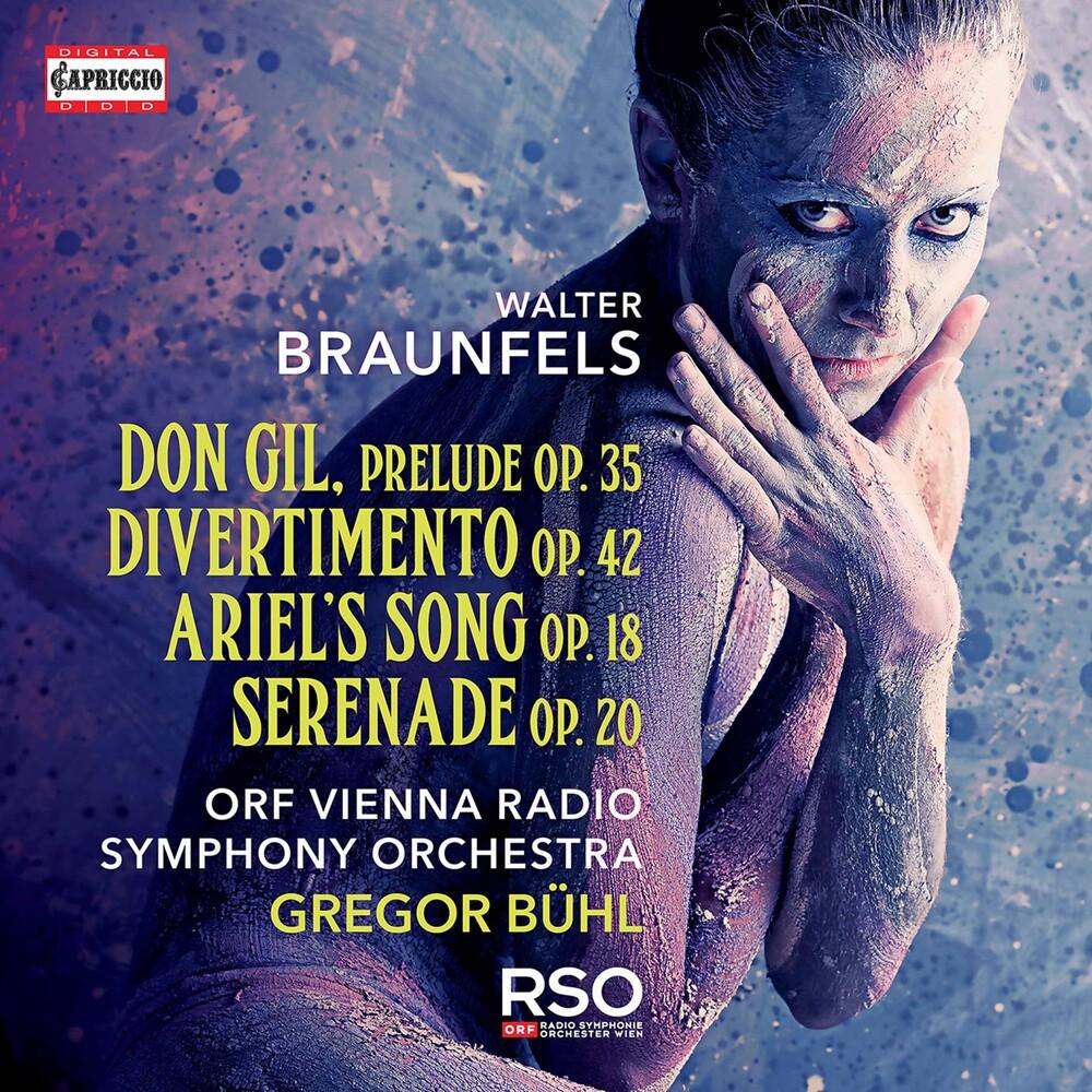 Braunfels / Orf Vienna Radio Symphony Orch - Orchestral Works