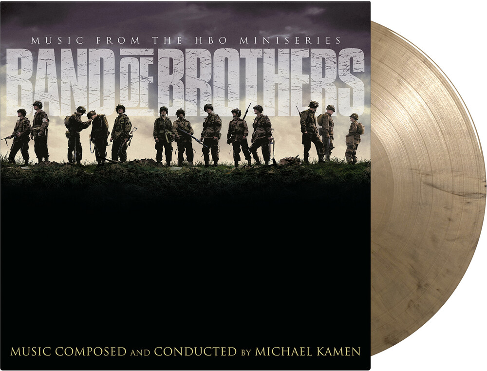 Michael Kamen  (Blk) (Colv) (Gate) (Gol) (Ltd) - Band Of Brothers / O.S.T. (Blk) [Colored Vinyl] (Gate)