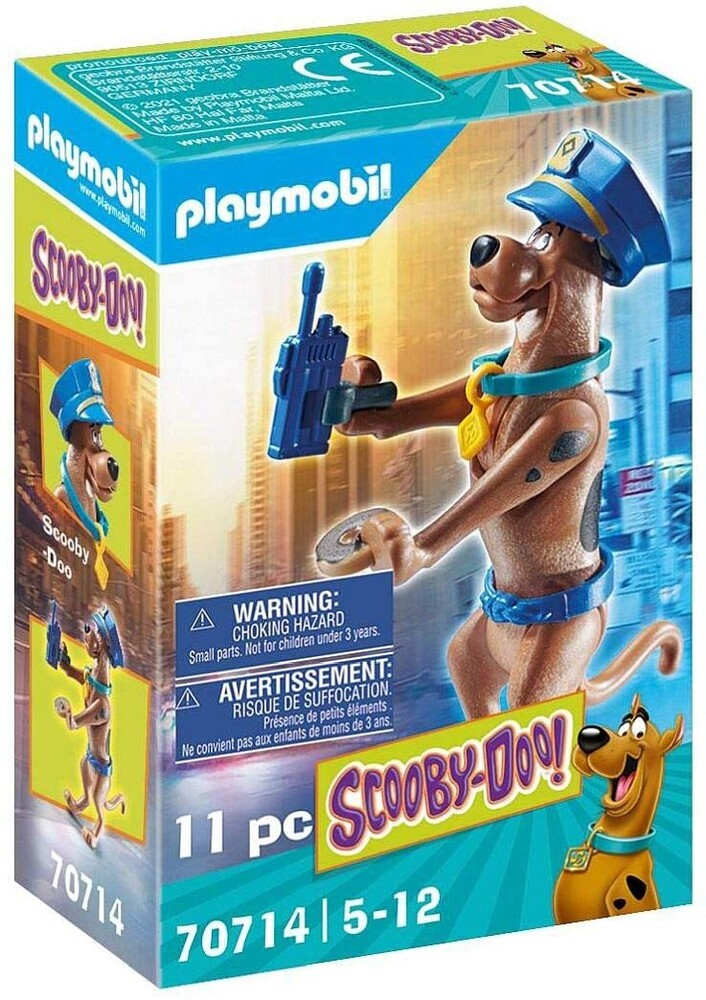 - Scooby Doo Collectible Police Figure (Fig)
