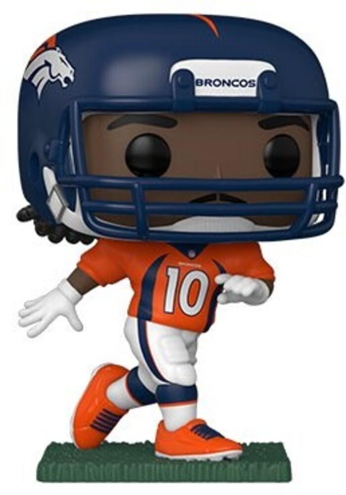 Funko Pop! NFL: - Broncos- Jerry Jeudy (Home Uniform) (Vfig)
