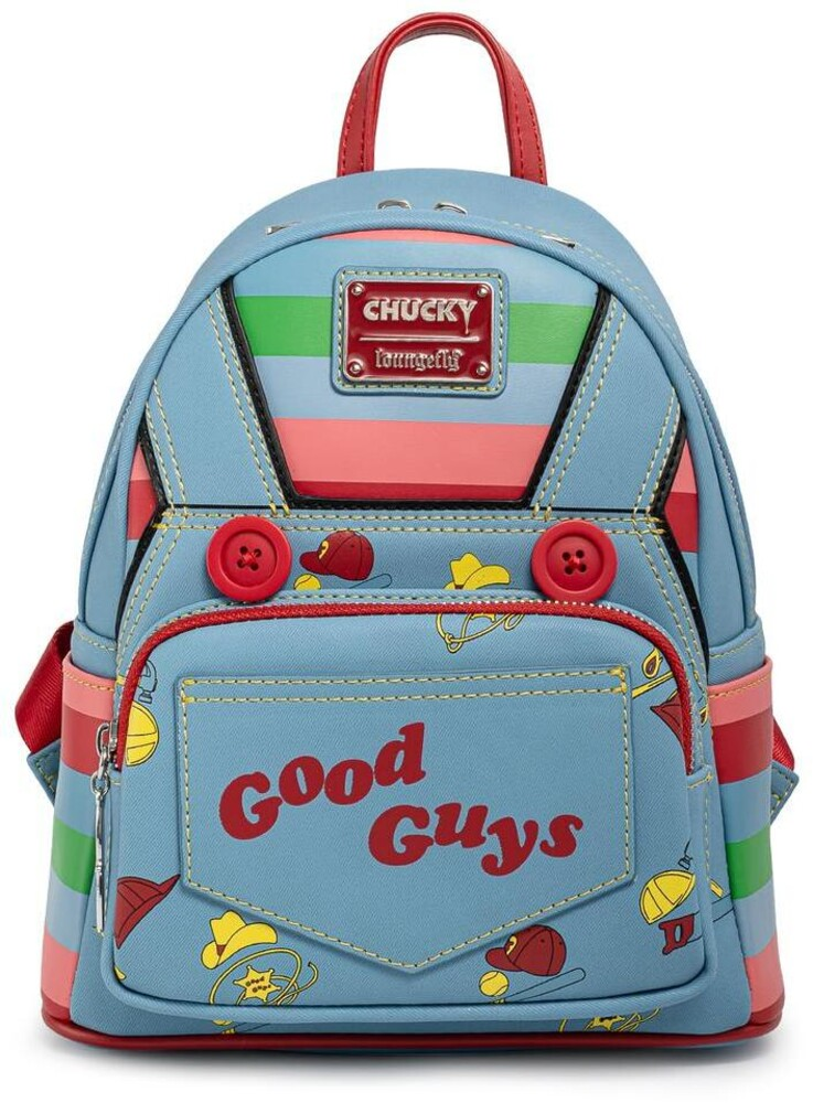 Loungefly Childs Play: - Chucky Cosplay Mini Backpack (Back)