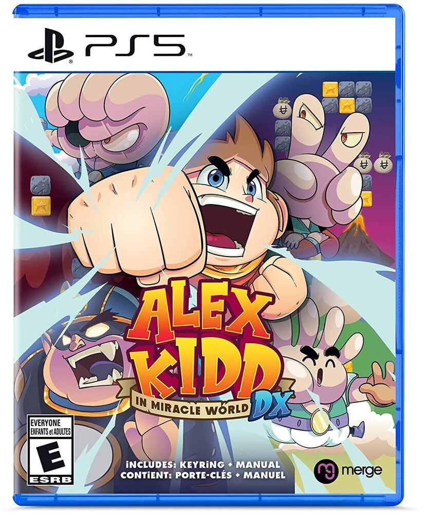 Ps5 Alex Kidd in Miracle World DX - Ps5 Alex Kidd In Miracle World Dx