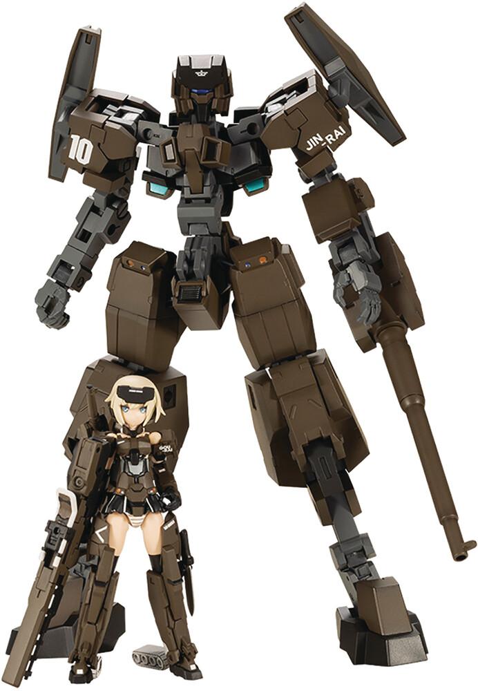 - Frame Arms Girl Handscale Courai With Jinrai Armor