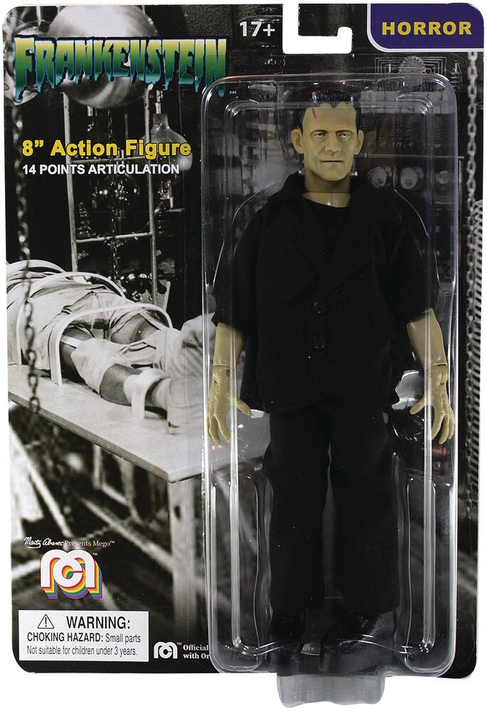 - Mego Horror Frankenstein 8in Af (Afig) (Clcb)