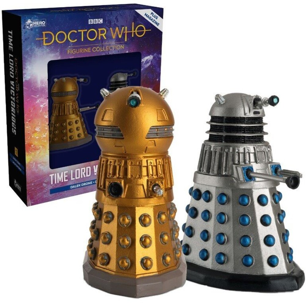- Doctor Who - Dalek Drone And Dalek Emperor Set